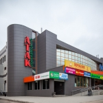 фотосъемка фасада торгового центра